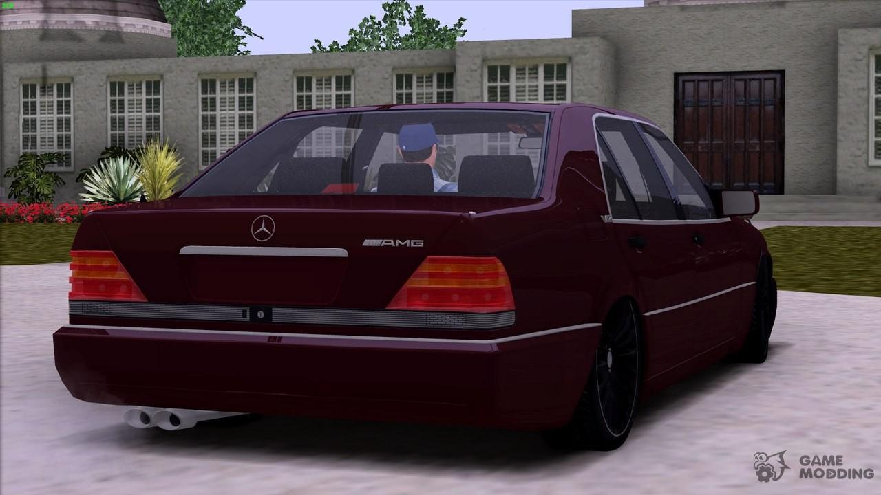 Mercedes benz s600 v12 w140 full 3d for gta san andreas for V12 mercedes benz