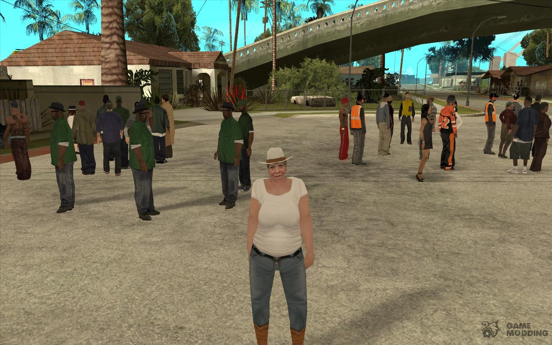 Скачать GTA San Andreas Crazy Mod