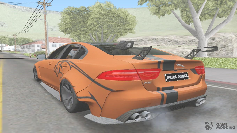 2017 Jaguar Xe Sv Project 8 For Gta San Andreas