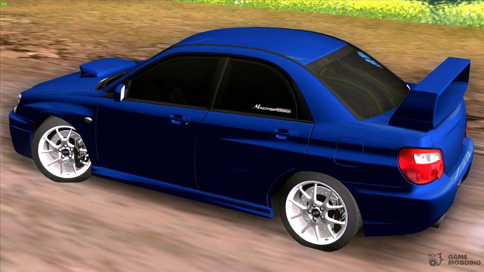 2004 Subaru Impreza Wrx Sti For Gta San Andreas