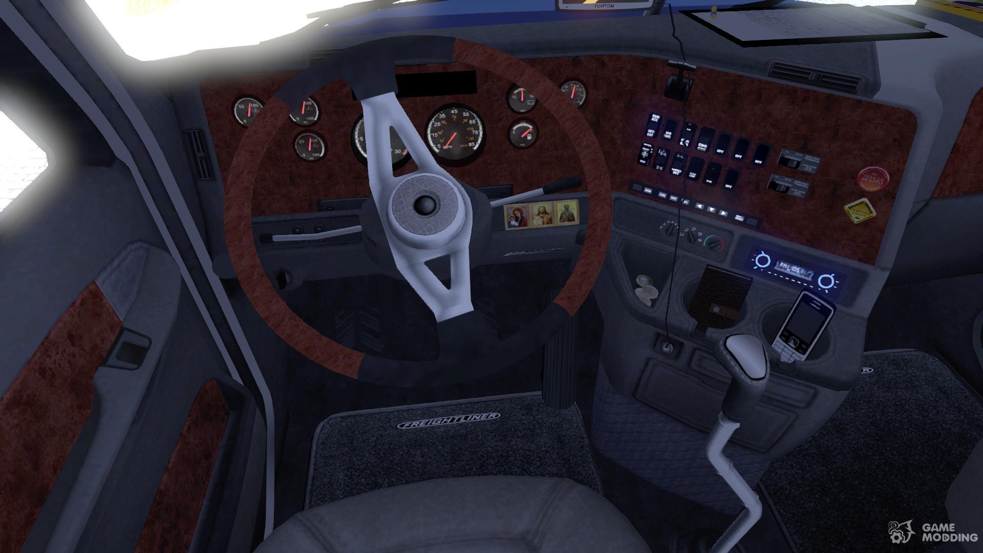 Freightliner Century St Interior For Euro Truck Simulator 2