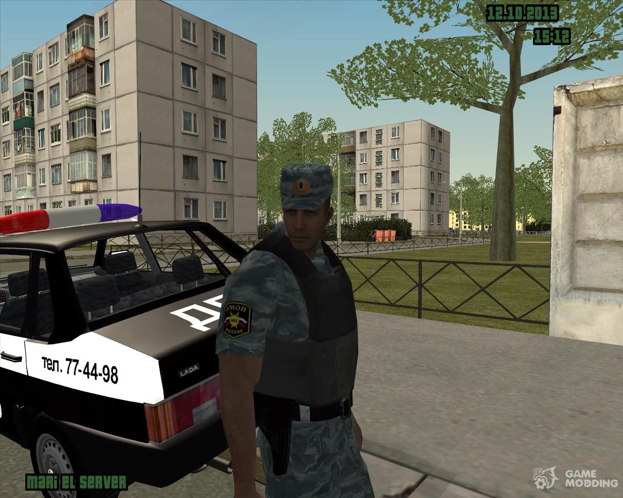 Скачать gta police rus