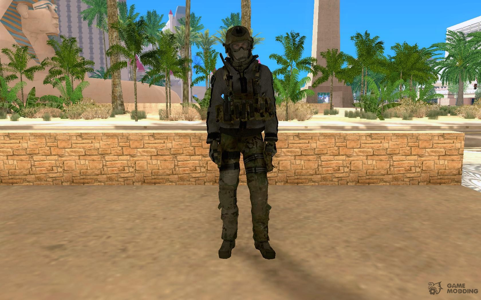 Roach From Cod Mw2 For Gta San Andreas