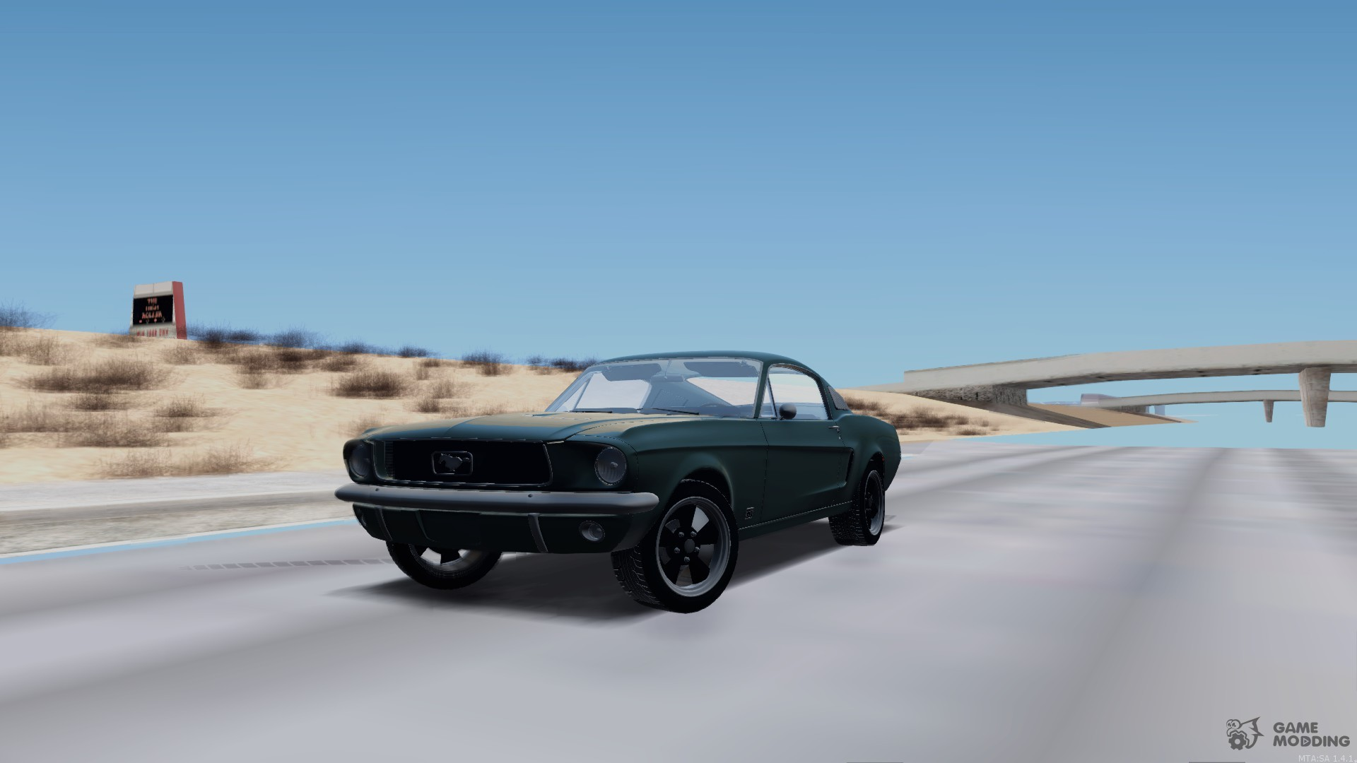 Shelby mustang gt 1967 for gta san andreas