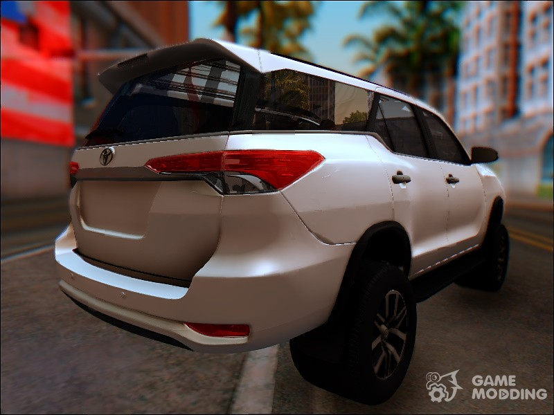 Toyota Fortuner 2017 for GTA San Andreas