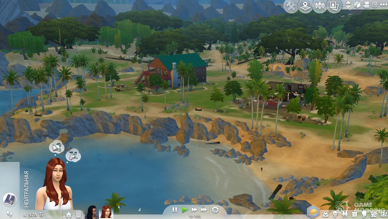 sims 4 how to create a beach