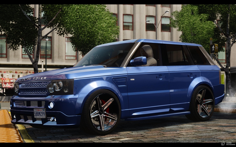 Kahn Range Rover Sport Tuning 2010 For Gta 4