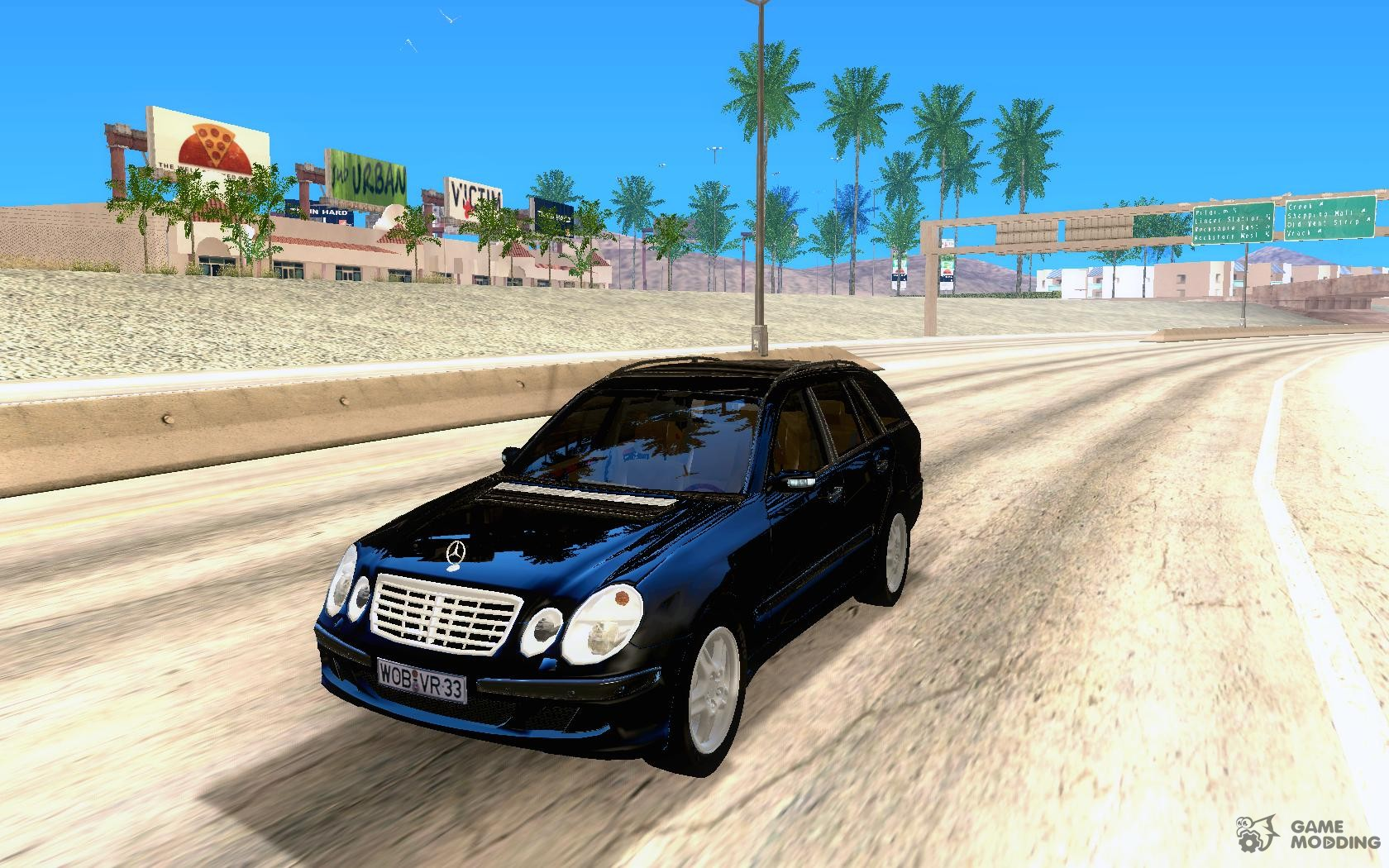 Mercedes benz e320 for gta san andreas for 99 mercedes benz e320