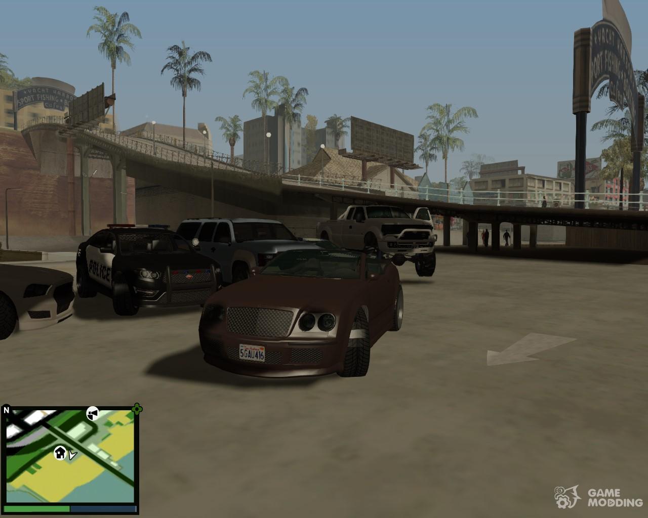 Пак авто как в gta 5