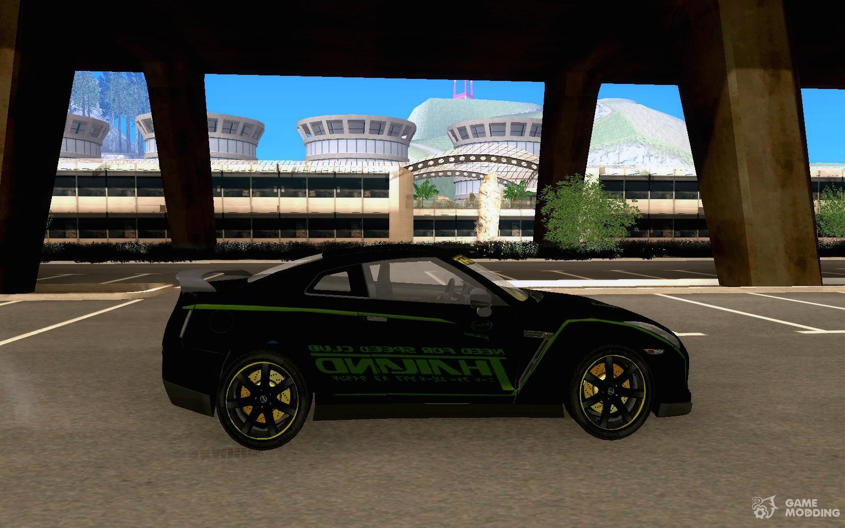 Nissan GTR 35 NFS Thailand Club for GTA San Andreas