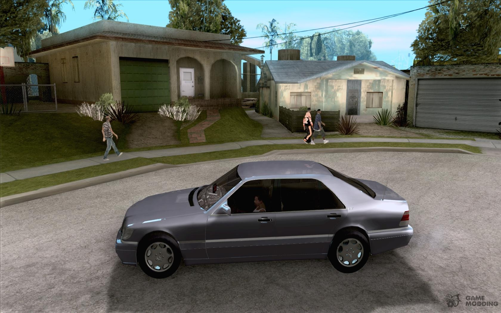 Mercedes benz s600 1999 for gta san andreas left view