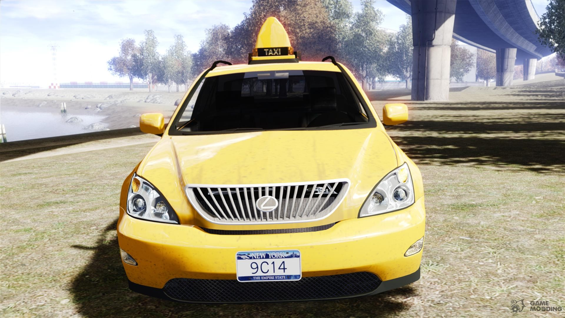 lexus rx400 new york taxi for gta 4. Black Bedroom Furniture Sets. Home Design Ideas