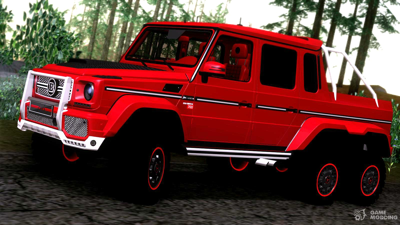700 brabus mercedes benz amg g63 6 x 6 for gta san andreas for Mercedes benz g63 amg 6x6 price