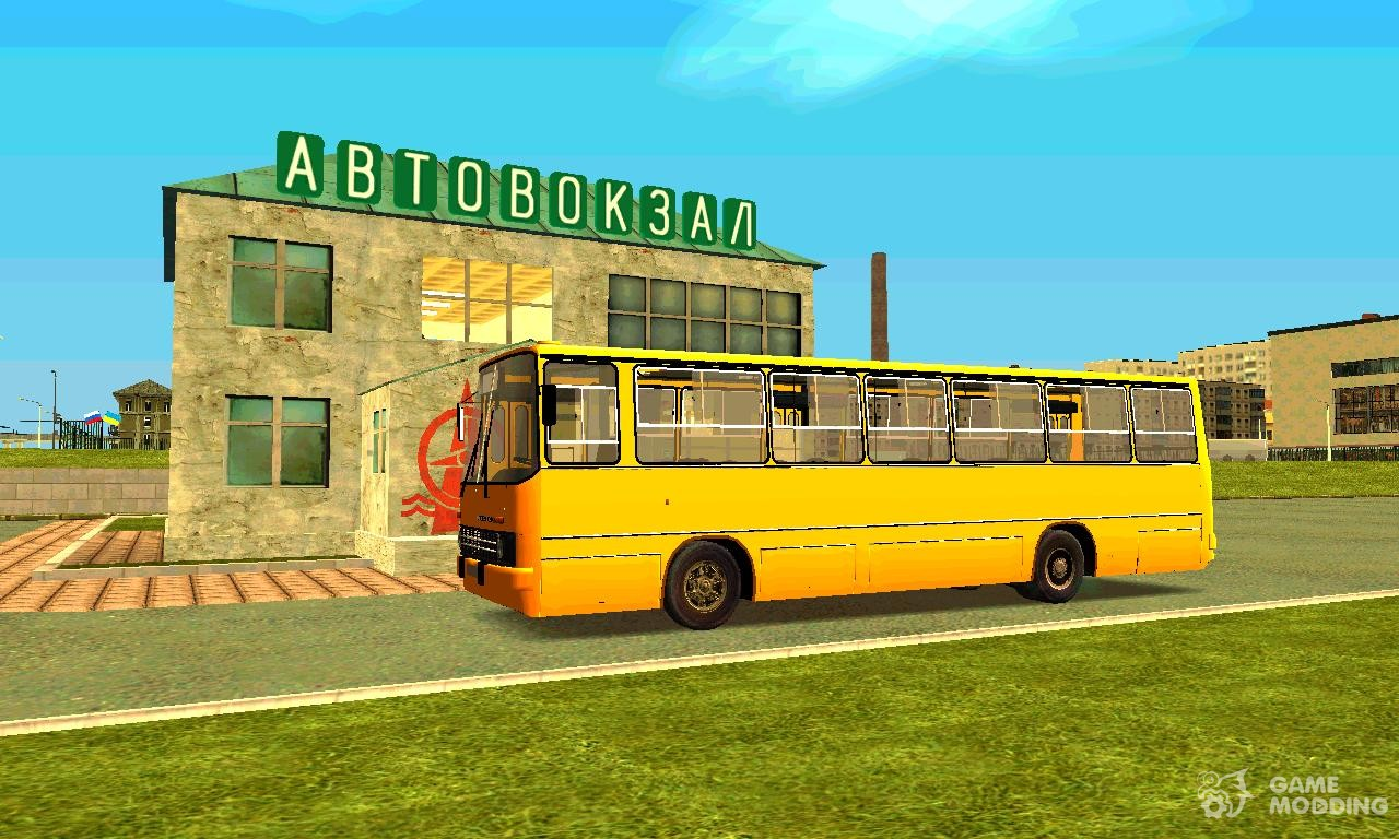 Ikarus 260 280 for gta san andreas Ikarus