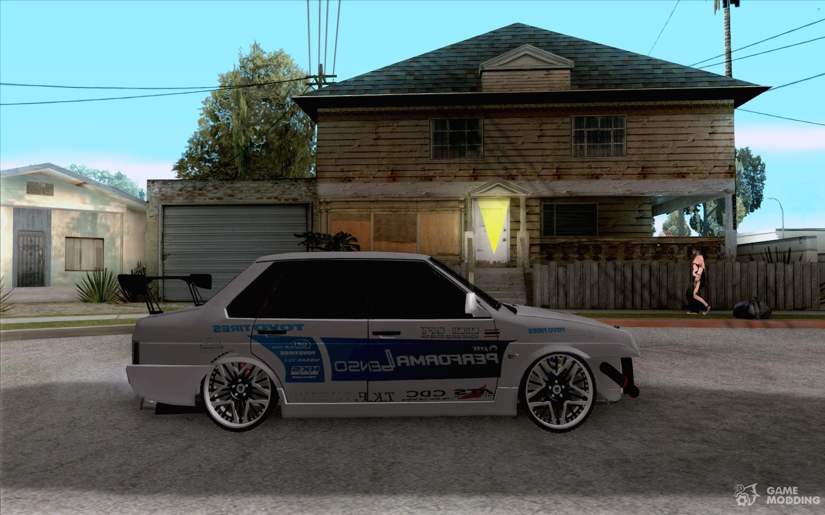 Vaz Drift Style For Gta San Andreas