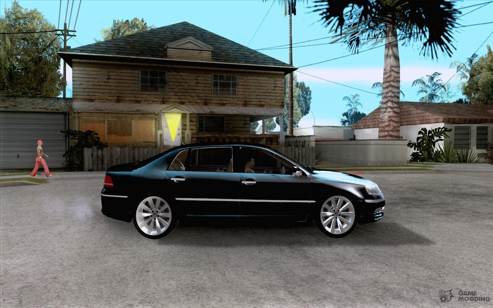volkswagen phaeton w12 for gta san andreas. Black Bedroom Furniture Sets. Home Design Ideas