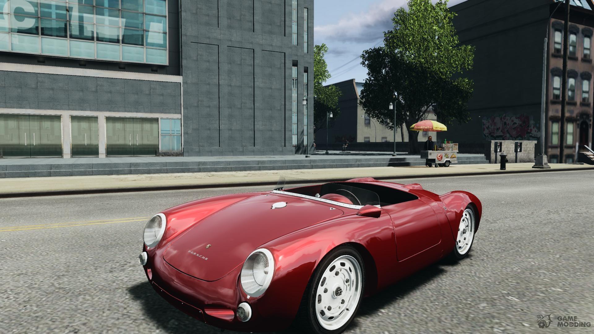 Porsche 550 Spyder A 1956 V 1 0 For Gta 4