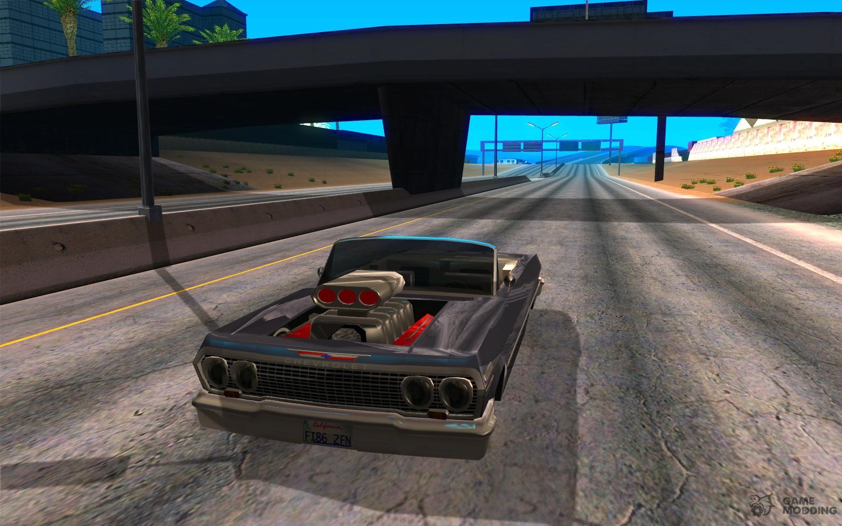 Chevrolet impala 4 door hardtop 1963 for gta san andreas - Chevrolet Impala 4 Door Hardtop 1963 For Gta San Andreas 33