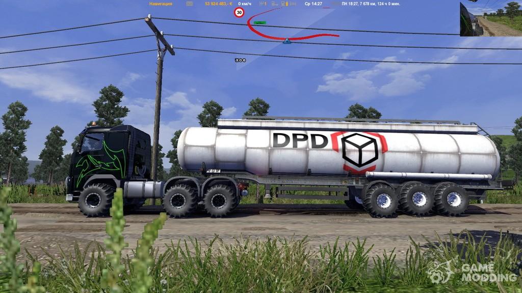 Скачать Мод Внедорожные Прицепы Для Euro Truck Simulator 2 - фото 10