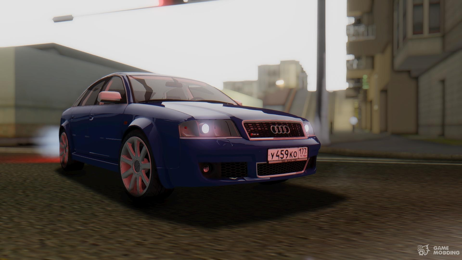 Audi RS6 C5 (rus, AMS, IVF) for GTA San Andreas