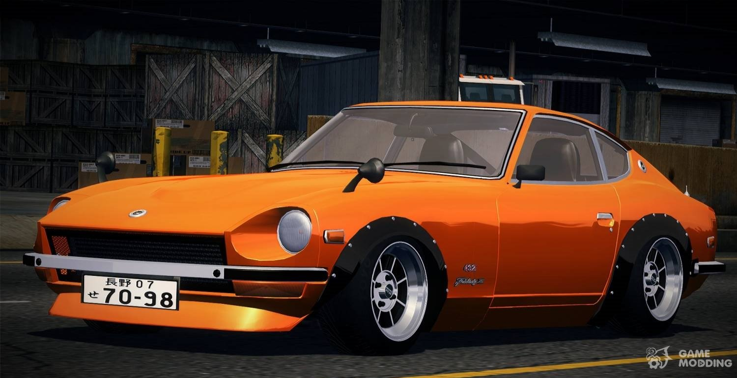 Nissan Fairlady Z 432 1969 For Street Legal Racing Redline