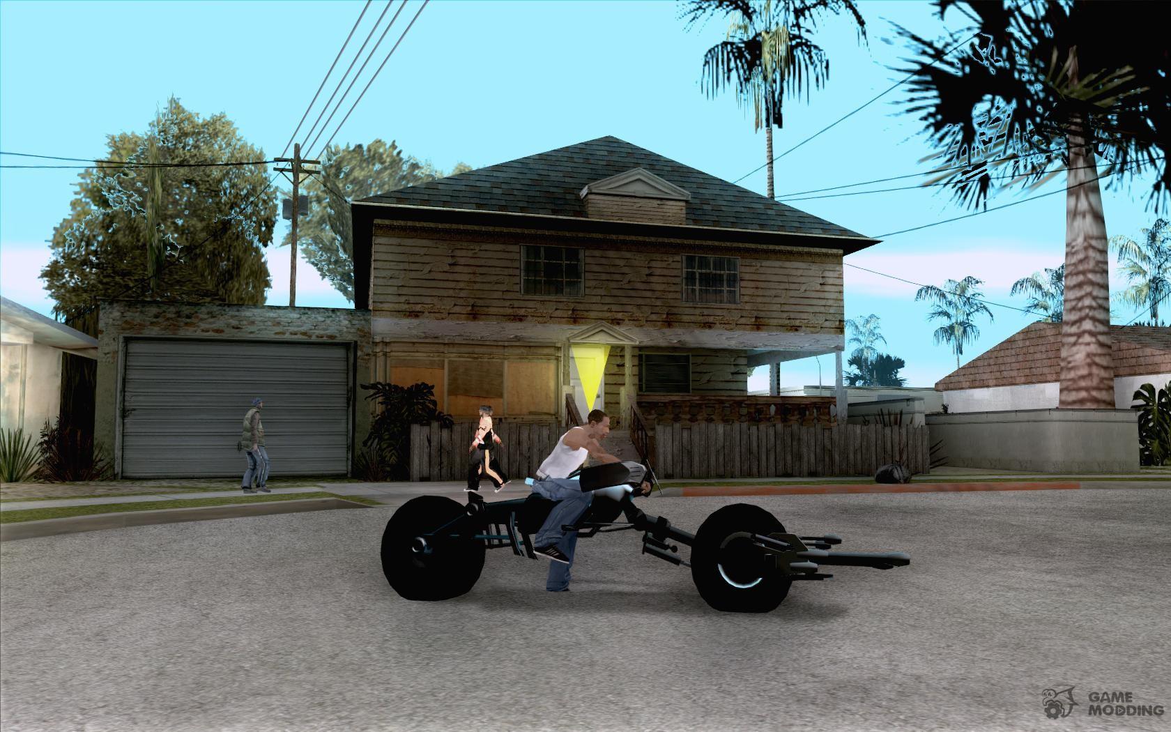Batpod for GTA San Andreas