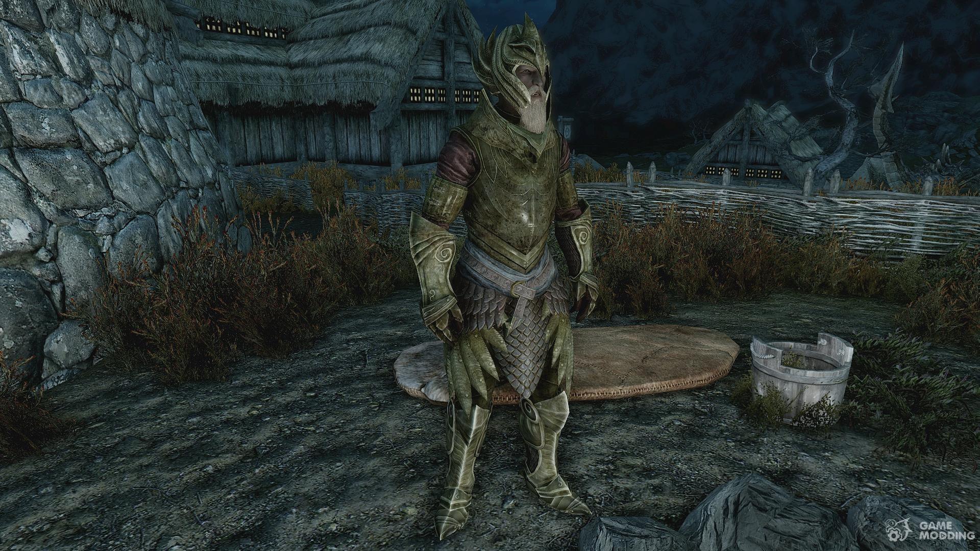 Craftable Elven Light Armor For Tes V Skyrim