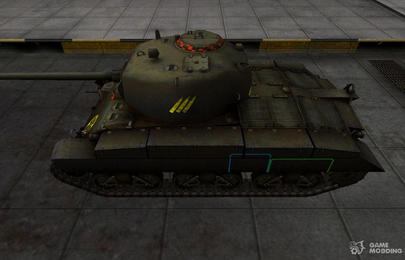 world of tanks contour mod