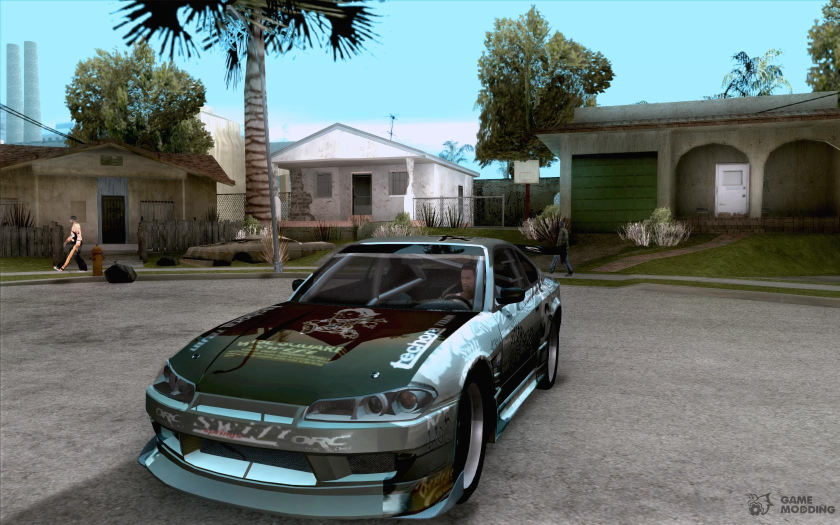 Nissan silvia s15 the fast and the furious 3 tokyo drift for gta san andreas