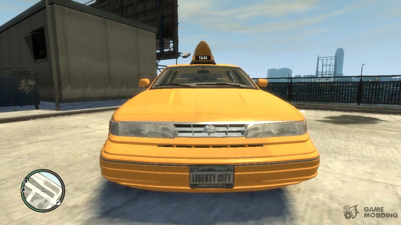 1995 Ford Crown Victoria Lc Taxi For Gta 4 2