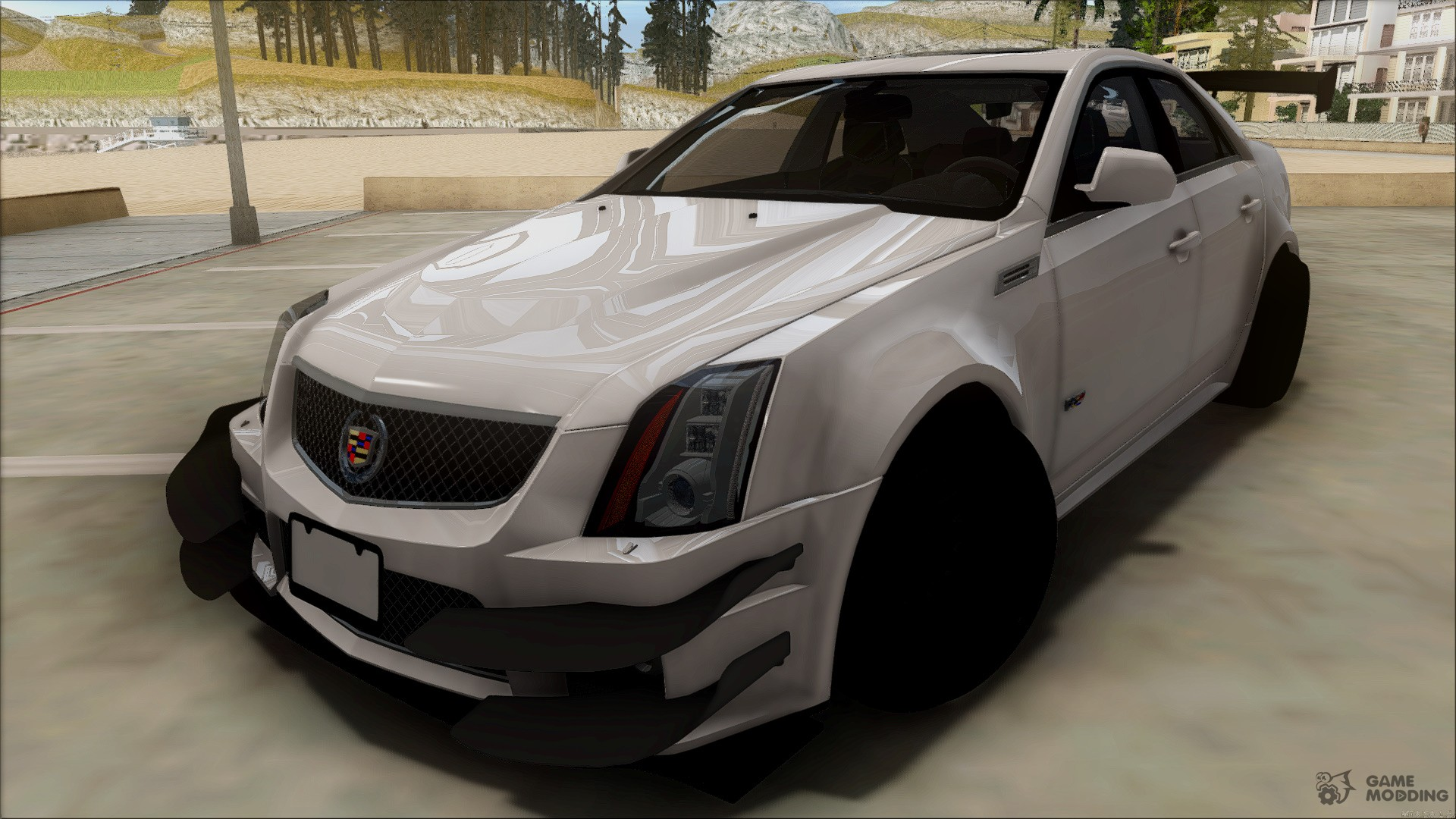 Cadillac Cts V Sedan For Gta San Andreas