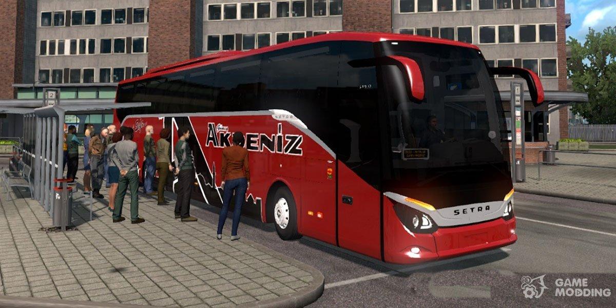 Bus Terminal for Euro Truck Simulator 2