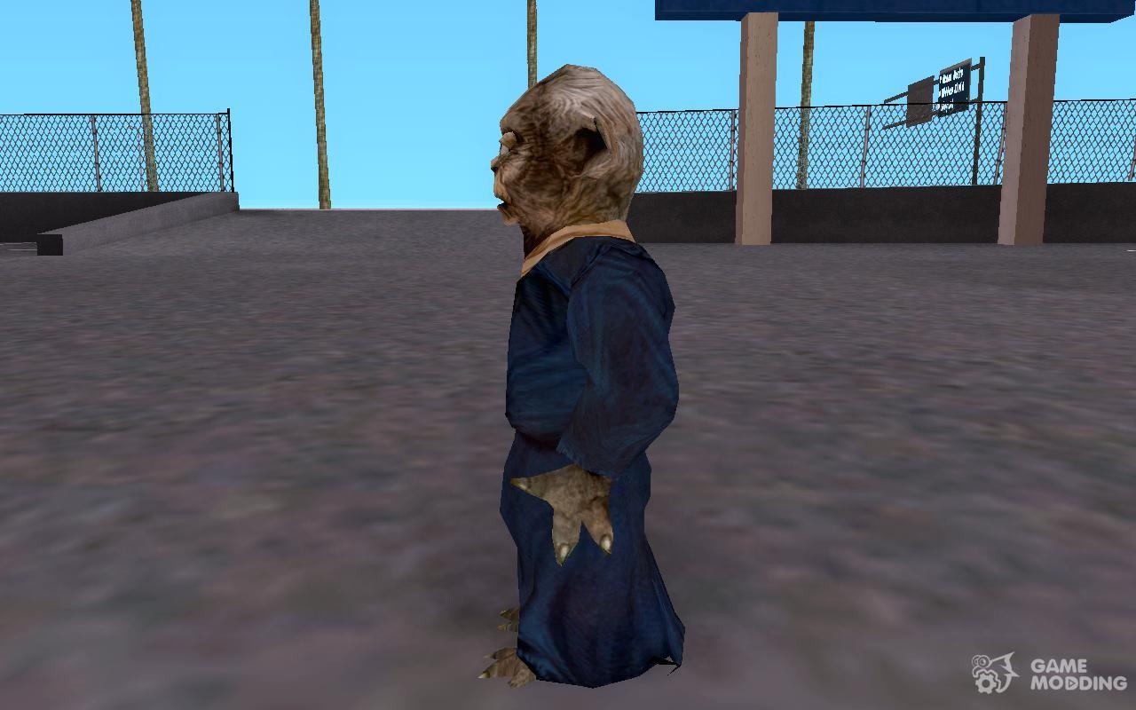 Yoda from Star Wars KOTOR 2 for GTA San Andreas