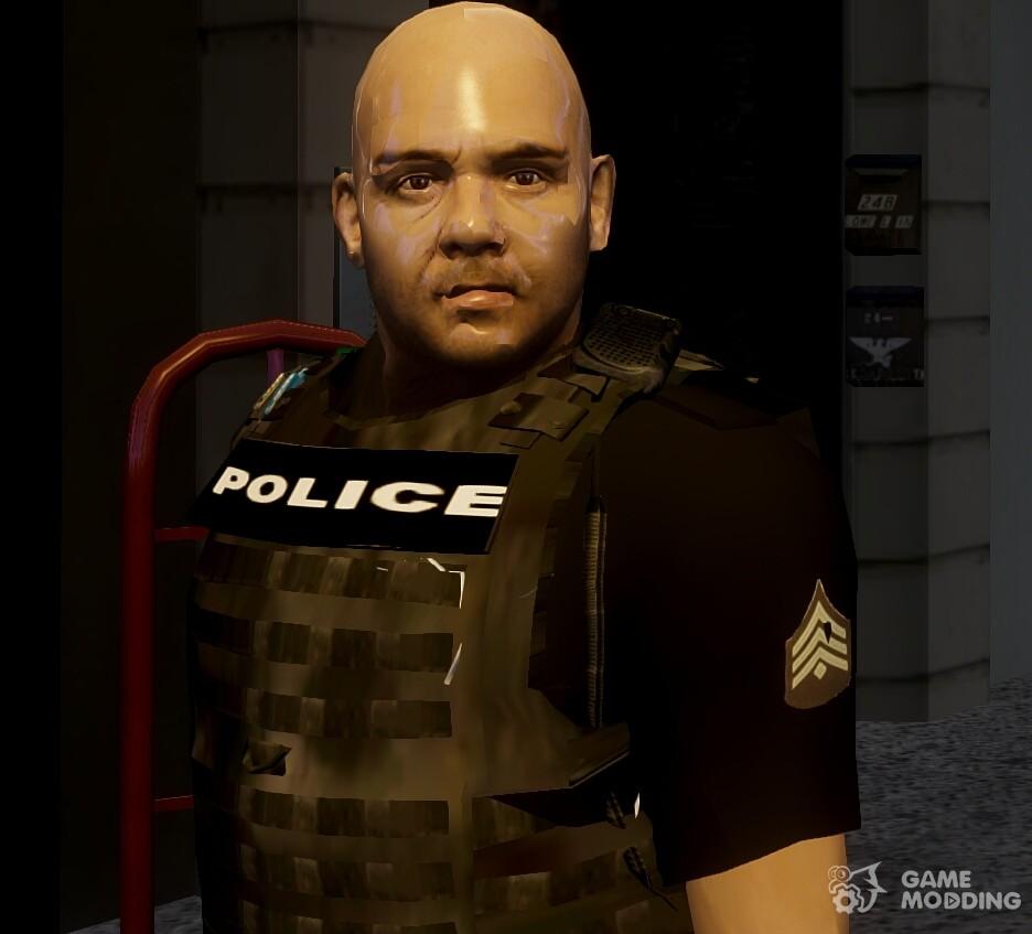 GTA V Police Officer For GTA 4