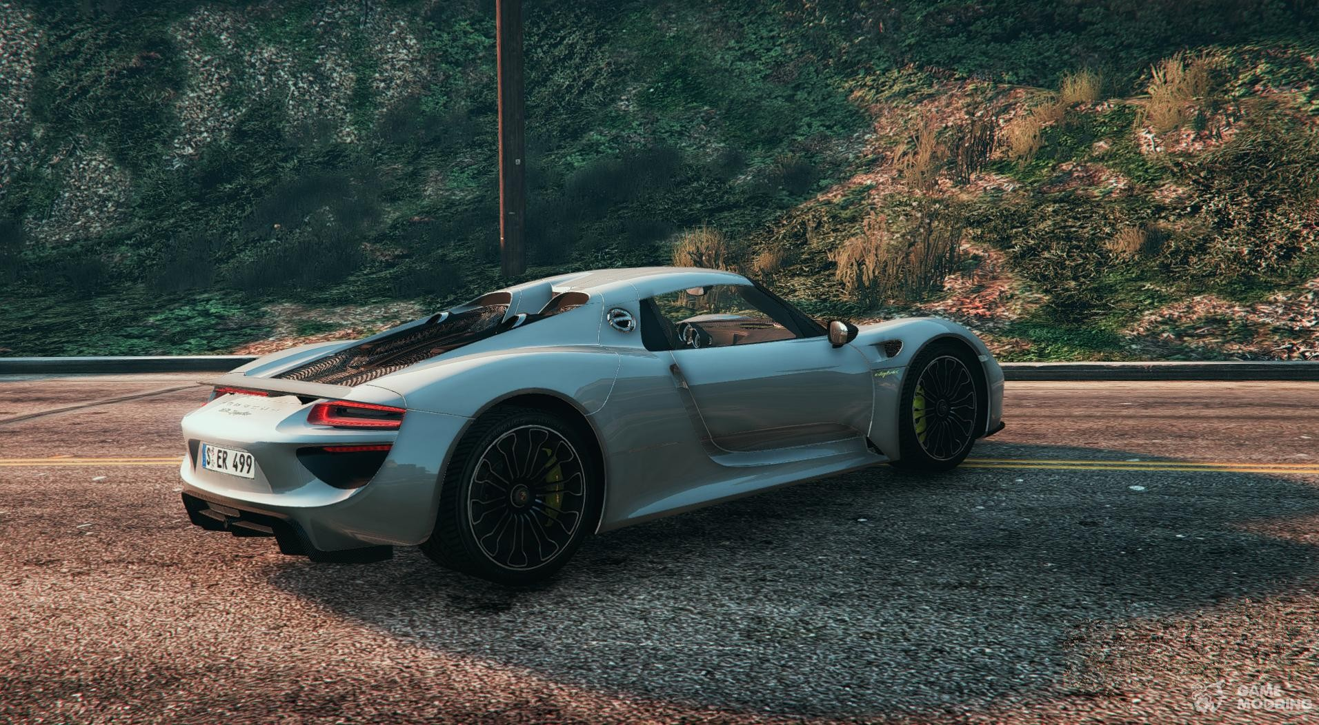 2014 porsche 918 spyder hd for gta 5. Black Bedroom Furniture Sets. Home Design Ideas
