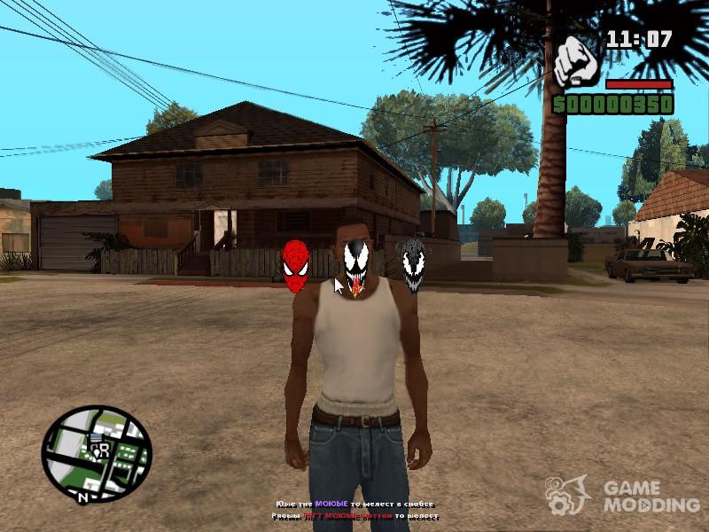 скачать мод на Spider Man для Gta San Andreas - фото 2