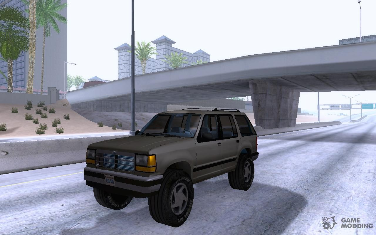Ford explorer 1994 for gta san andreas inside view