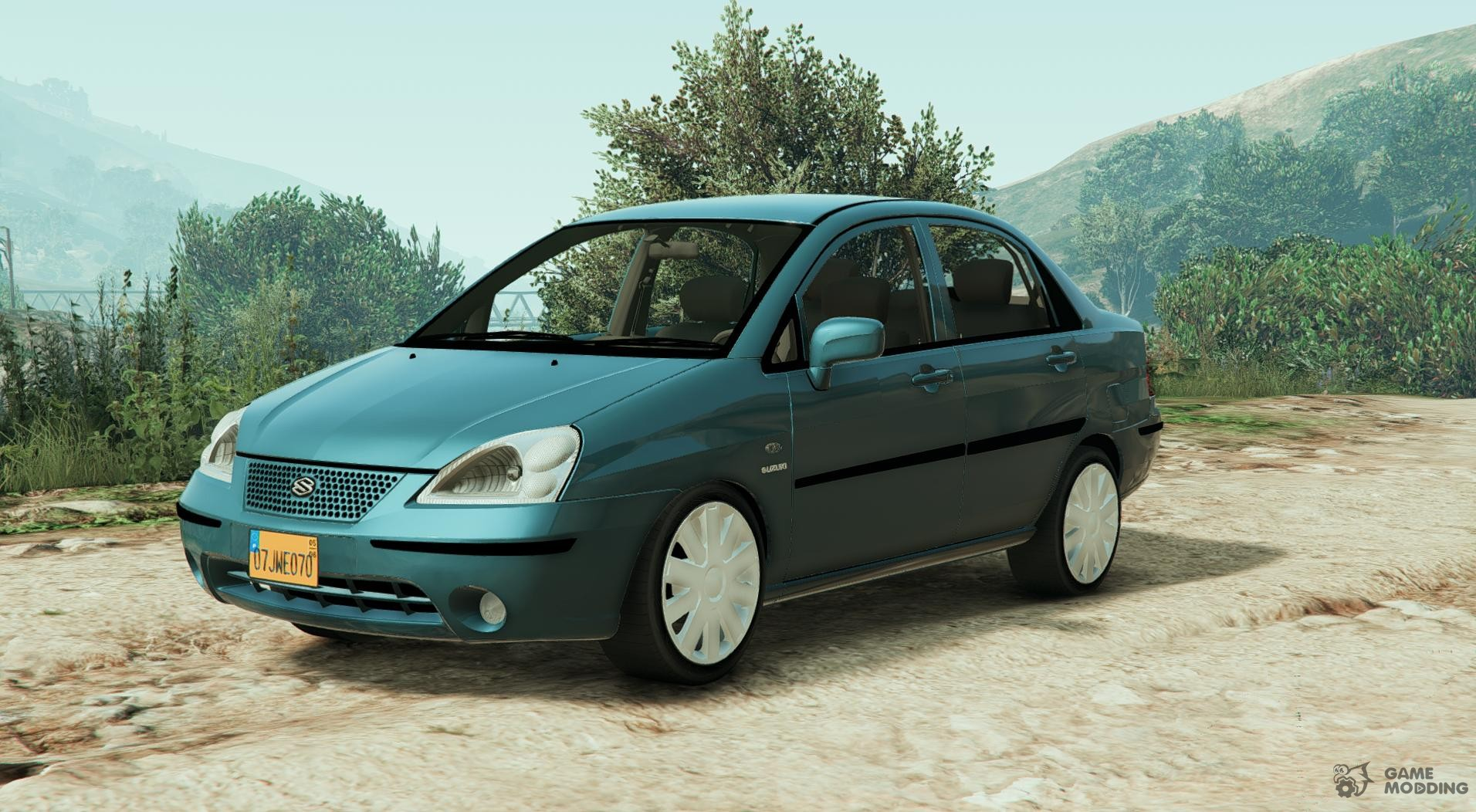suzuki liana for gta 5. Black Bedroom Furniture Sets. Home Design Ideas