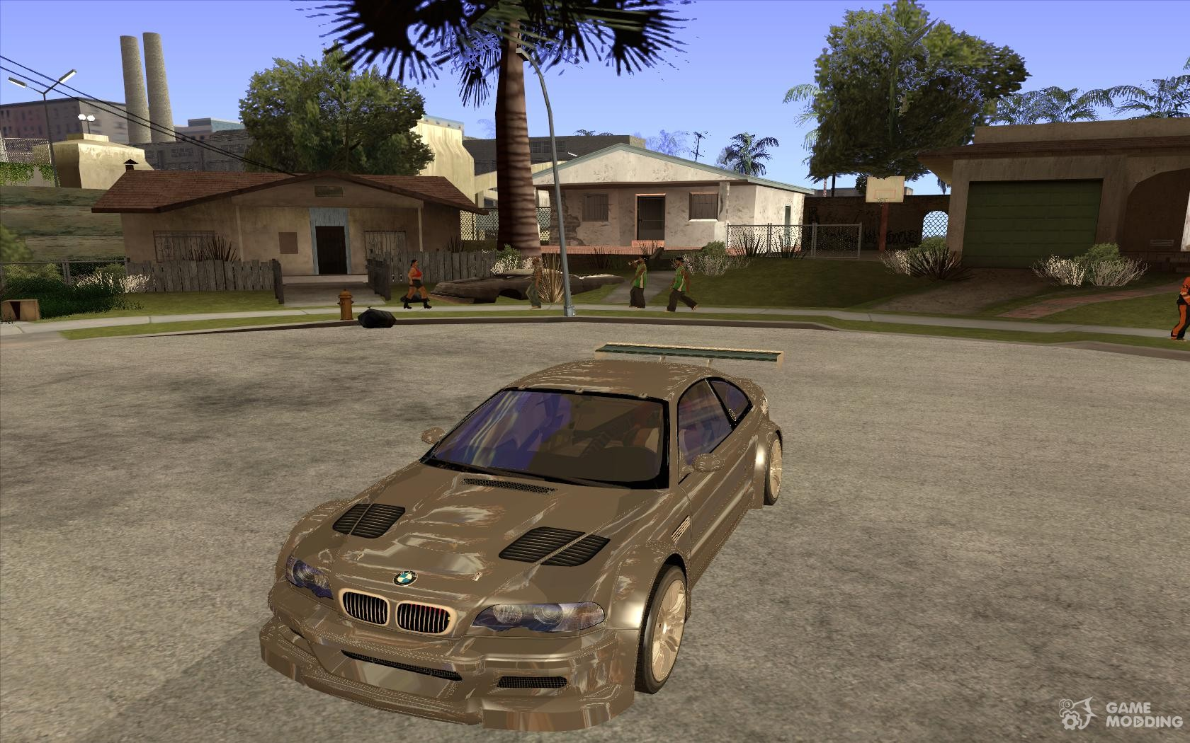 Bmw m3 gtr from need for speed most wanted for gta san andreas voltagebd Gallery