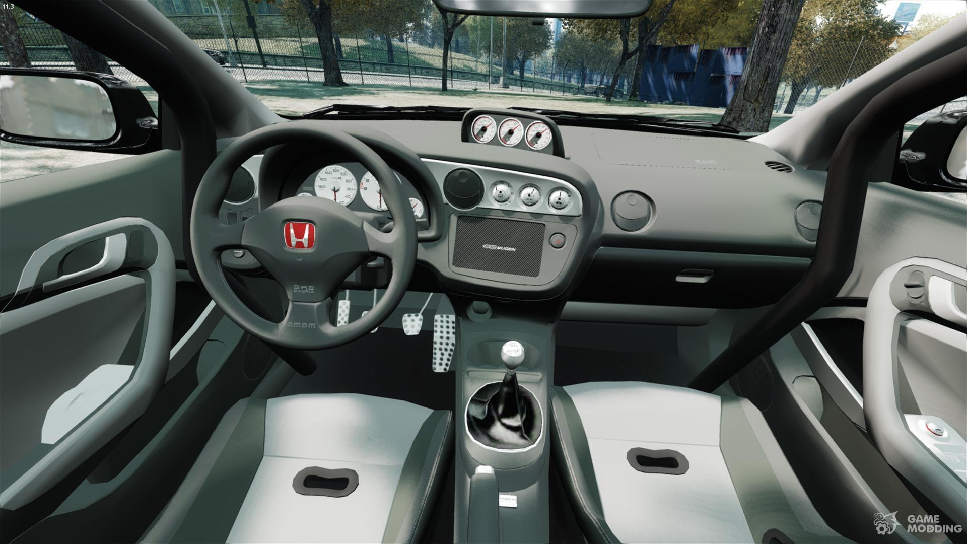 acura integra interior mods. honda mugen integra typer dc5 for gta 4 right view acura interior mods s