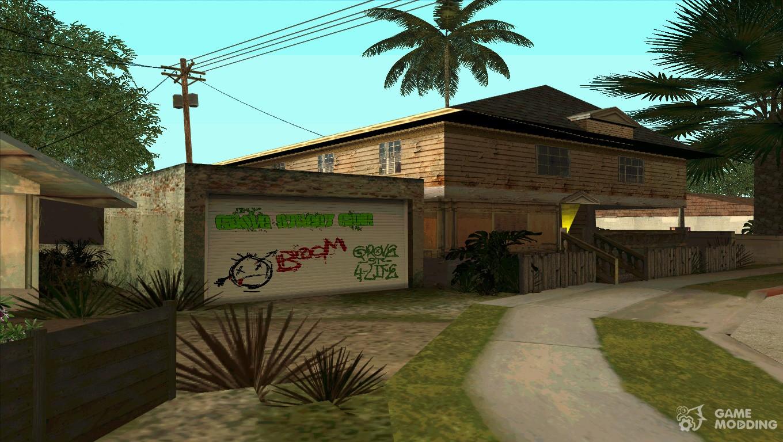 Hd Graffiti Garage Cj For Gta San Andreas