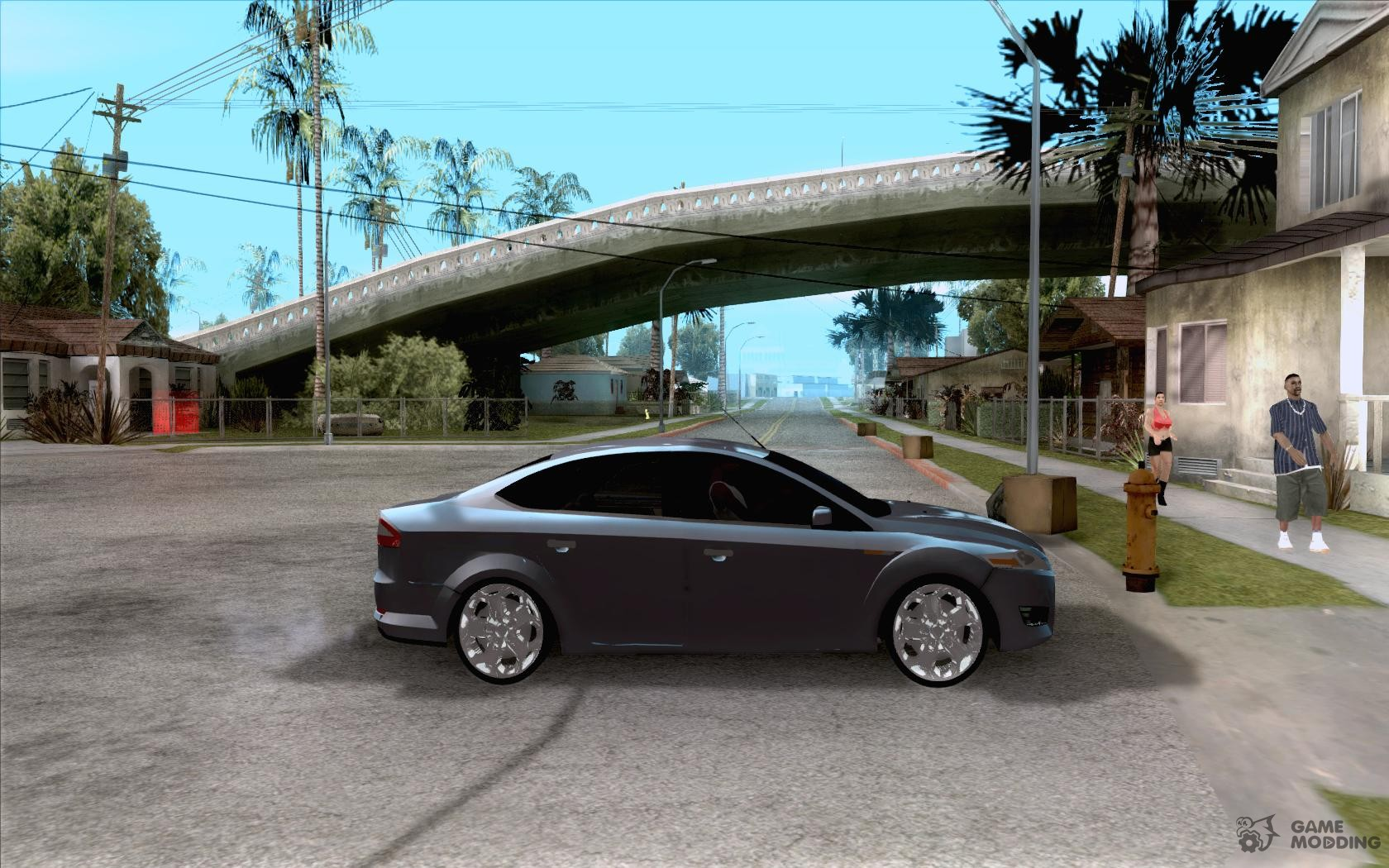 Ford Mondeo 2009 For GTA San Andreas Inside View