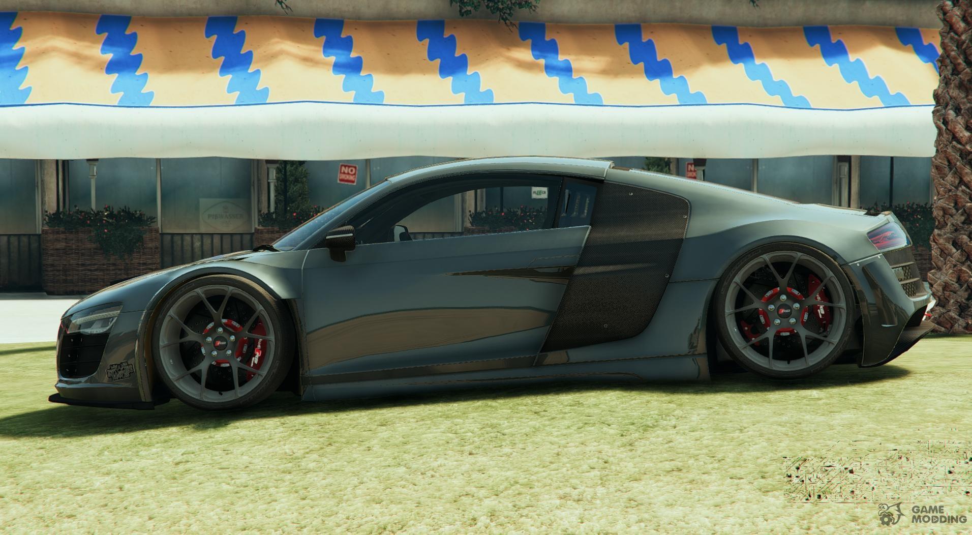 Audi r8 lms street custom for gta 5 audi r8 lms street custom for gta 5 rear left view publicscrutiny Images