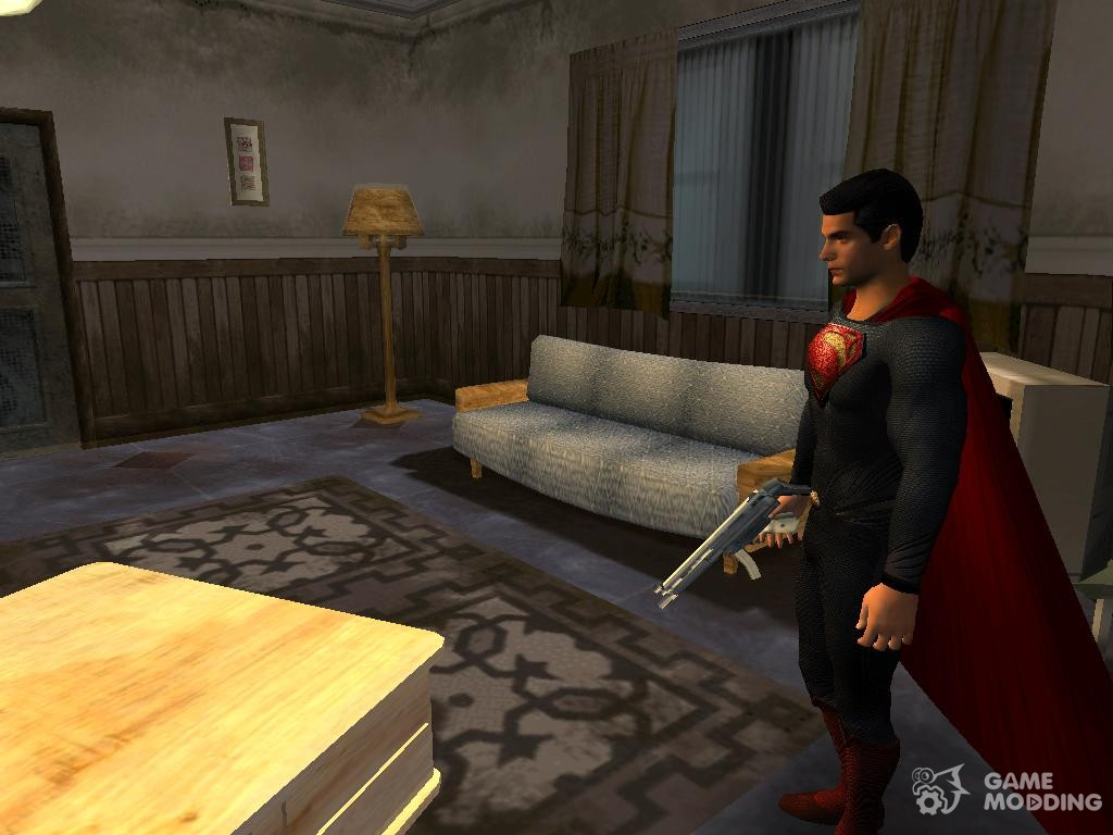 Superman cyborg v2 for gta san andreas.