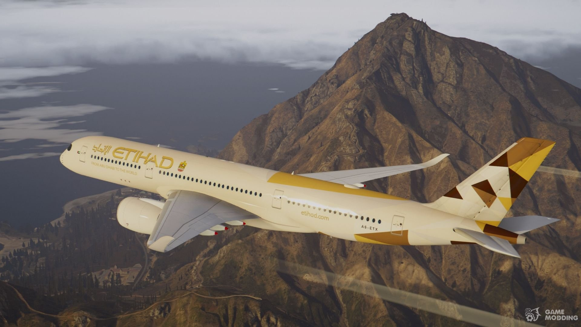 Airbus A350-900 XWB for GTA 5