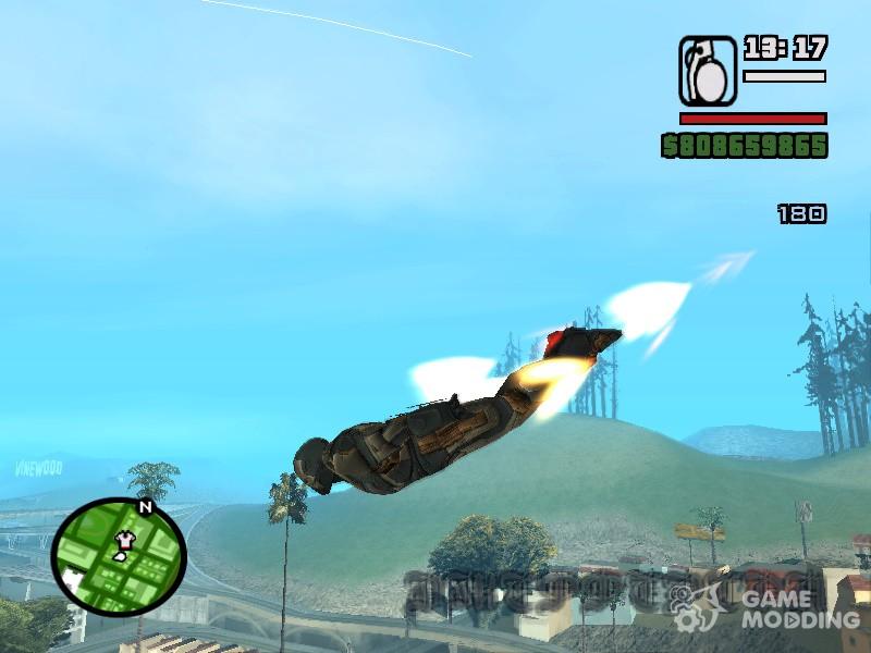 Iron Man flight animation for GTA San Andreas