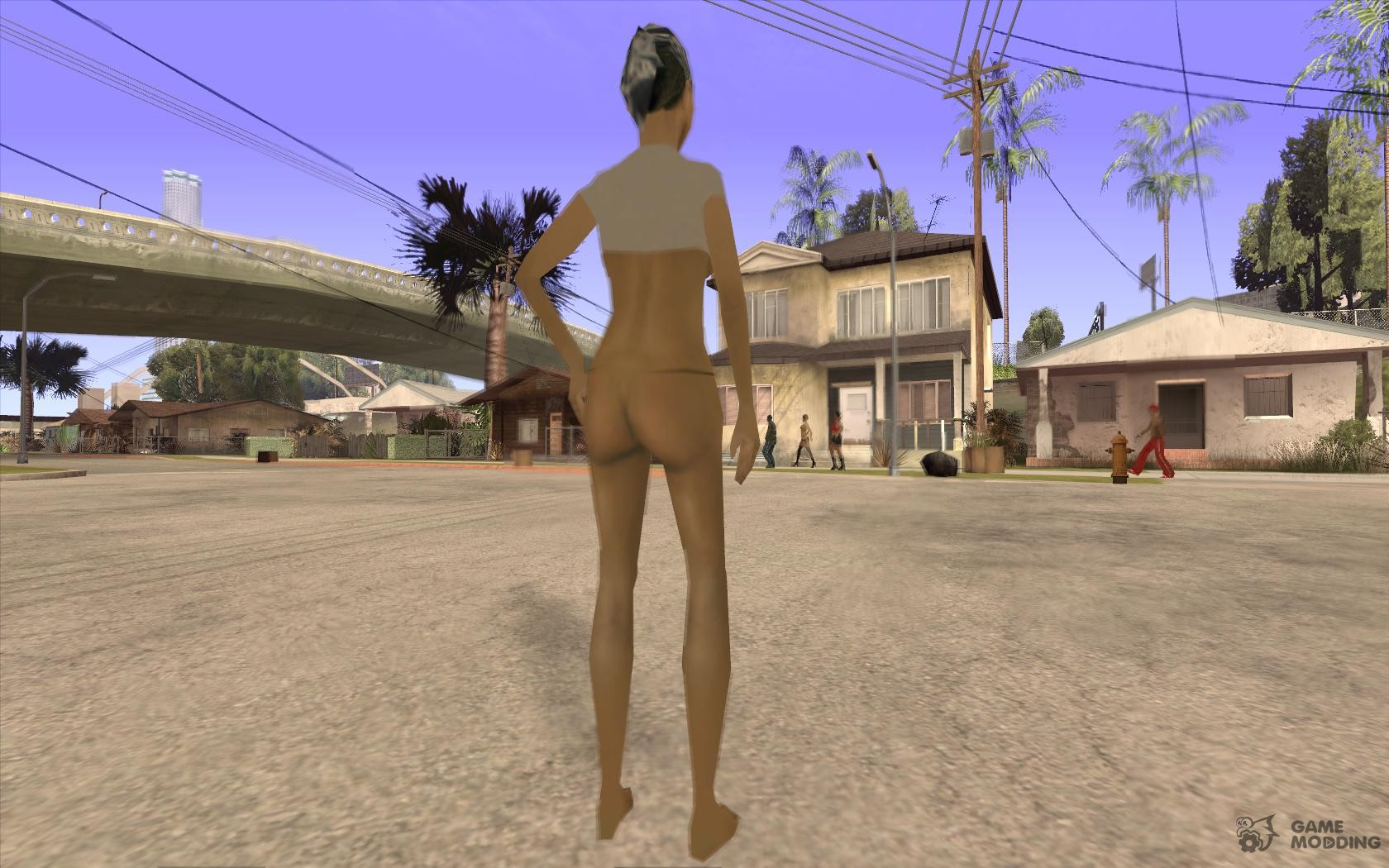 Gta san andreas nude mod to download naked scene