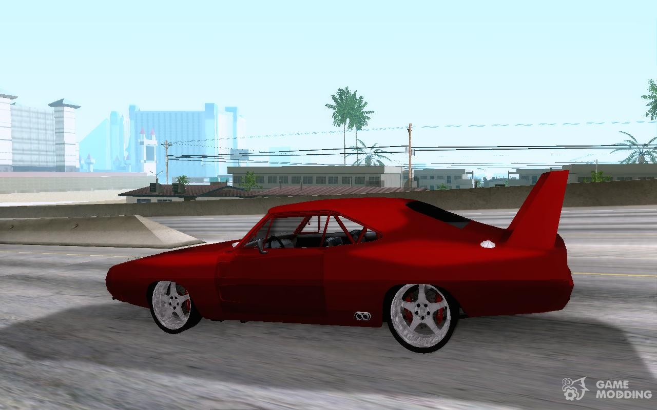 Dodge Charger Daytona Fast Amp Furious 6 For Gta San Andreas