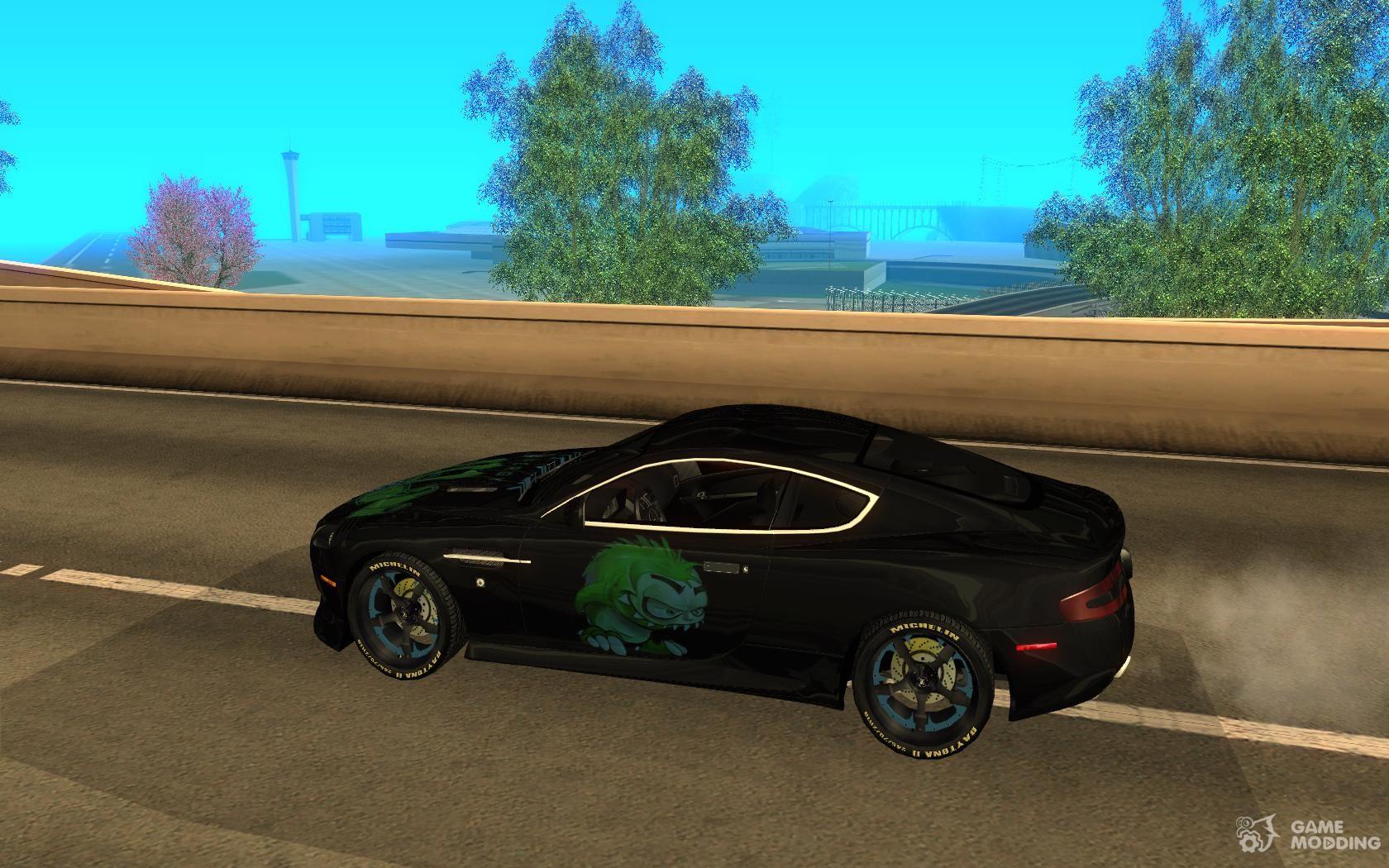 Aston Martin Db9 Nfs Ps Tuning For Gta San Andreas
