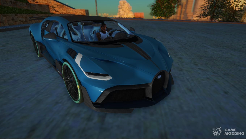 2019 Bugatti Divo For Gta San Andreas